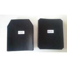 Ceramic + PE   Çift  Bükümlü Level IV  Plaka ( SRP 002 )